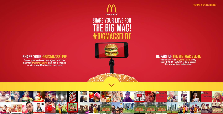 BigMac Selfie